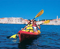 Sea Kayaking, Dubrovnik