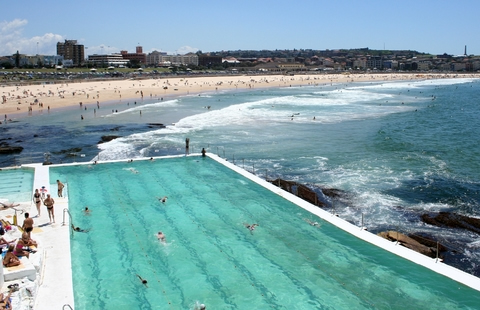 The iconic Bondi Beach
