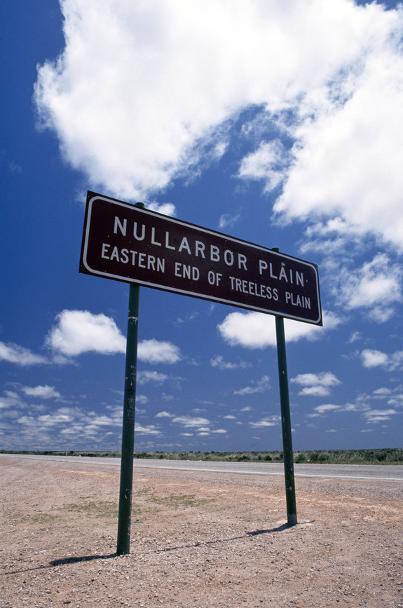 Driving across the Nullabor