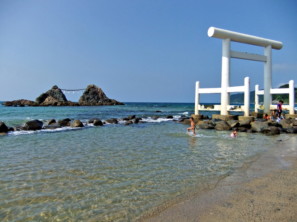 nude beach in japan
